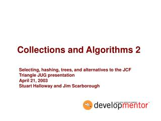 Collections and Algorithms 2