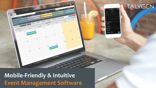 Mobile-Friendly & Intuitive Event Management Software