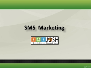 Bulk SMS Marketing Company in India, SMS Marketing India – SMSjosh