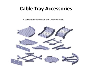 Cable Tray Accessories - Cable Tray Cover   Cable Tray Tee