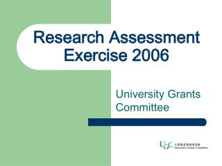 Research Assessment Exercise 2006