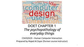 Chapter 8 Psychopathology