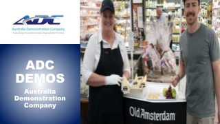In-store demonstration companies - ADCDEMOS