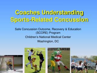 Coaches Understanding Sports-Related Concussion