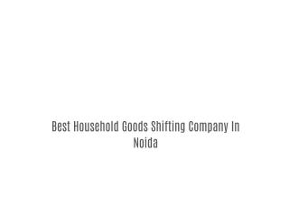 Home Shifting Company In Noida