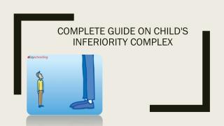 Child inferiority complex