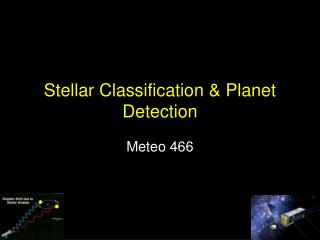 Stellar Classification  Planet Detection