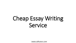 Cheap Essay Writing Service