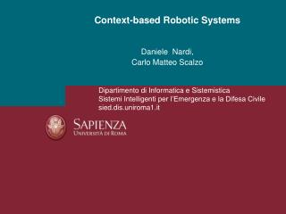 Context-based Robotic Systems