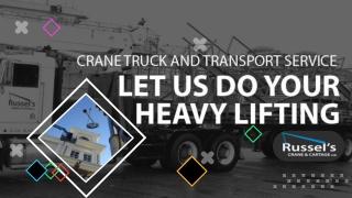 Crane Truck Victoria | Victoria Cranes | Cranes Victoria BC