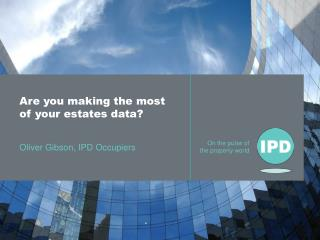 Are you making the most of your estates data?