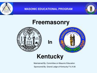 MASONIC EDUCATIONAL PROGRAM