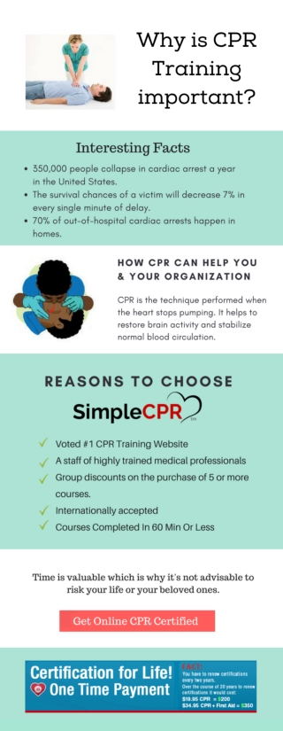 Why is CPR Training Important?