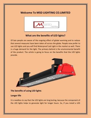 LED Light Bar, Waterproof LED Light