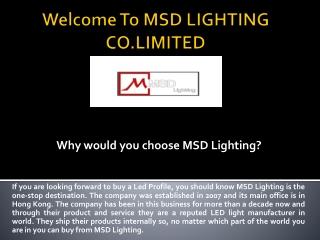 LED Strip Light, LED Profile
