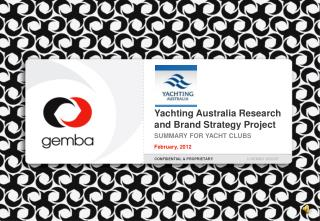 Yachting Australia Research and Brand Strategy Project