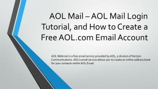 AOL Mail   AOL Mail Login. AOL Mail Features - AOL Mail Help