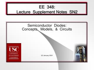 EE  348: Lecture  Supplement Notes  SN2