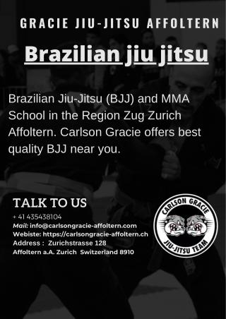 Gracie Jiu-Jitsu Affoltern - Brazilian Jiu-Jitsu (BJJ), Grappling, MMA