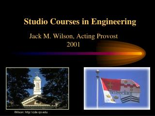 Studio Courses in Engineering