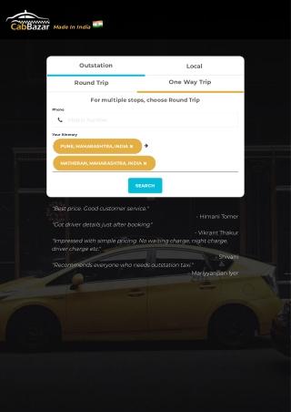 Pune to Matheran Cab | Pune to Matheran Taxi