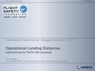 Operational Landing Distances