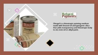 Best Oil Painting Medium   Buy Rublev Colours Oleogel Online
