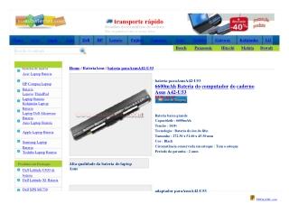 bateria para Asus A42-U53