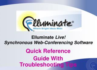 Elluminate  Live! Synchronous Web-Conferencing Software