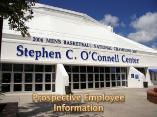 Prospective Employee Information