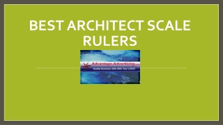 Best Architect Scale Rulers