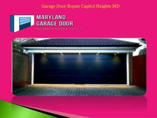 Garage Door Repair Capitol Heights MD