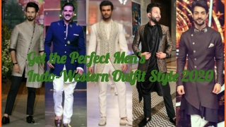 Perfect Men's Indo-Western Outfits Style 2020