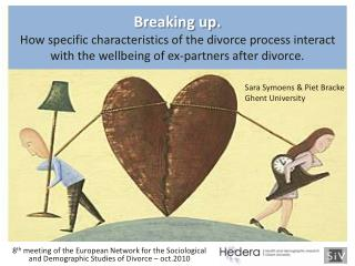 Breaking up.  How specific characteristics of the divorce process interact with the wellbeing of ex-partners after divor