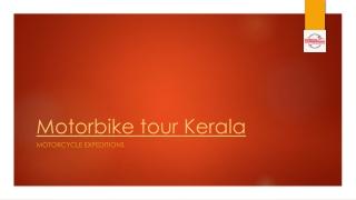 Motorbike Tour Kerala