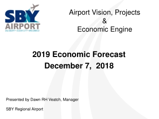 A irport Vision, Projects & Economic Engine