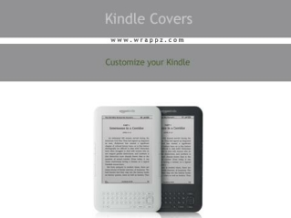 Design your personalized kindle covers with your favourite i