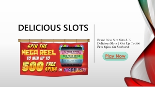 Delicious Slots Is All Set to Satisfy Your Craving for Slot Games