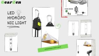 Trust Only GearZen for the Best Led Hydroponic Light