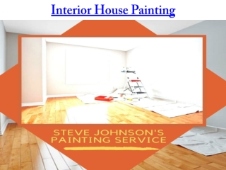Interior House Painting
