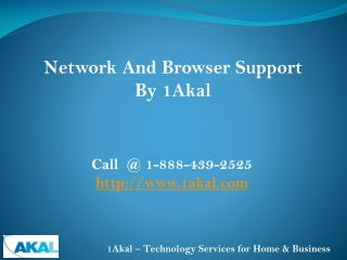 Network & Browser Support