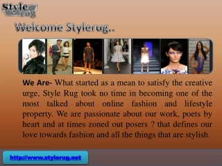 Latest Fashion News - Stylerug