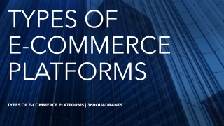 Best E-Commerce Platforms Market – Expected Surge in Revenue by 2023