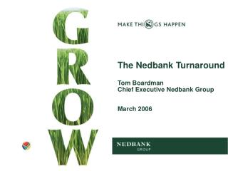 The Nedbank Turnaround