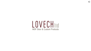 Get Cabinet Cutting Services by Experts at Lovech Ltd