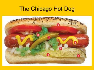 The Chicago Hot Dog
