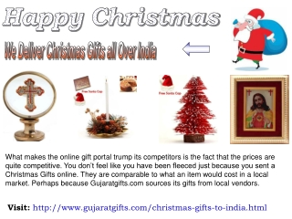 This Occasion is celebrated on Send Christmas Gifts to India
