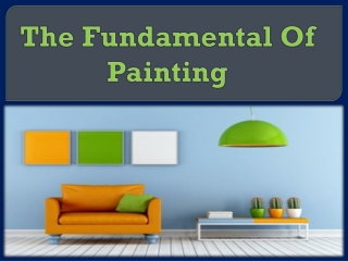 The Fundamental Of Painting