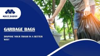 Extra Large Garbage Bags