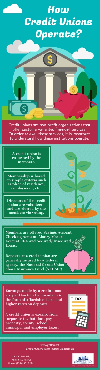 How Credit Unions Operate?